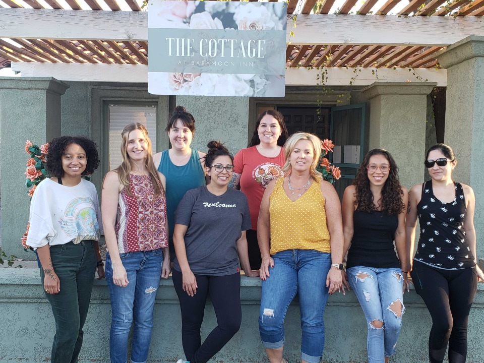 Doula Training class graduates at Arizona's Baby Moon Inn